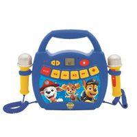 LA PAT 'PATROUILLE - Bluetooth-Lautsprecher - Lichteffekte, Mikrofone und Akku