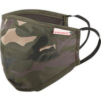 Vingino Kinder Jungen Alltagesmaske Maske Mundschutz army green one size