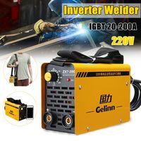 ZX7-200 220V 20-200A IGBT Schweißgerät MMA Tragbarer Schweißinverter für Eisen & Stahl