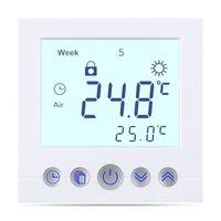 Digital Thermostat C16 für elektrische Fußbodenheizung programmierbar Heizungssteuerung