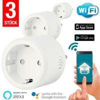 3x WLAN Steckdose Smart Home | App, Alexa, Google Home IOS Android WiFi Socket