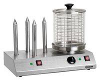 Elektrisches Hot-Dog-Gerät 4 Toaststangen