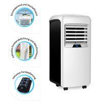 Home Deluxe Mobile Klimaanlage Klimagerät + Fensterabdichtung 12000 BTU + Timer