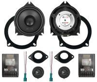 MB Quart Kompo-Kit 10 cm QM-100C BMW 2 Wege System Auto Hifi Lautsprecher Paar, QM100CBMW