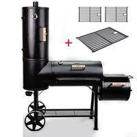 TAINO CHIEF 130kg Smoker inkl. 3er Set Roste BBQ Räucherofen Holzkohle Grill