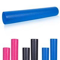 GORILLA SPORTS® Pilates Rolle - 90 x 15 cm, Weiche, Schaumstoff, Blau - Fitness Roller, Faszienrolle, Yoga-Schaumstoffrolle, Massagerolle, Pilatesrolle, Gymnastikrolle