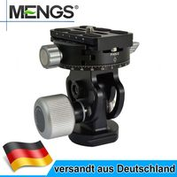 MENGS VH-10 2-Wege Fluid Video Panorama Kugelkopf Für DSLR Kamera und Stativkopf