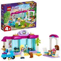LEGO 41440 Friends Heartlake City Bäckerei Spielset, Spielzeug ab 4 Jahren für Jungen und Mädchen mit Stephanie und Olivia Minipuppen