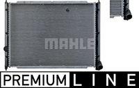 Mahle | Kühler, Motorkühlung BEHR *** PREMIUM LINE *** (CR 361 000P) passend für VW