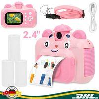 """2.4"""" 720/1080P Sofortbildkamera Digitalkameras Kinderkamera Fotoapparat Tragbar-"""