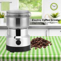 Elektrische Kaffeemühle Universallmühle Edelstahl Gewürze Körner Nüsse Kaffee Mühle