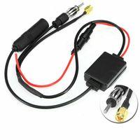 Universal DAB FM AM Auto Antenne Splitter Adapter Kabel Digital Radio Amplifier