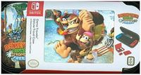 BigBen Nintendo Switch Travel Case Donkey Kong Country Tropical Freeze NNS52A (Transporttasche inkl. 2x 4-Spiele-Game-Boxen, 2x 2-Micro-SD-Card-Boxen)