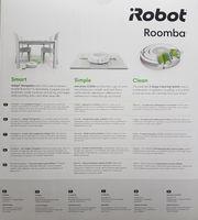 iRobot Roomba 612 Staubsaugerroboter, rund, schwarz