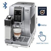 DeLonghi ECAM 370.95 S Dinamica Plus Kaffeevollautomat silber