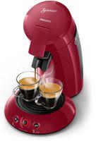 Philips Senseo Original Kaffee Boost Technologie - Kaffeepadmaschine - Pad-Kaffeemaschine - 0,7 l - Kaffeepad - 1450 W - Rot