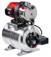 Einhell Hauswasserwerk GC-WW 1250 NN, Leistung 1200 Watt, Fördermenge max. 5000 l/h, Saughöhe 8 m, Behälter 20 l, 4173490