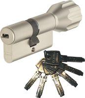 ABUS EC550 Knaufzylinder Länge Z30/K30mm (c=60mm) mit 6 Schlüssel, SKG** Bohrschutz