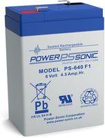 Powersonic PS 640 6V 4,5Ah Blei-Vlies Akku AGM VRLA