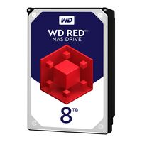 WD Red - 3.5 Zoll - 8000 GB - 5400 RPM