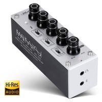 InLine® AmpEQ mobile, Hi-Res AUDIO Kopfhörer-Verstärker und Equalizer, mit Akku