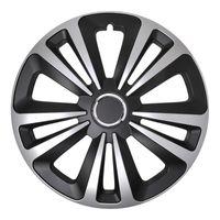 ProPlus Radkappe Terra 16 Zoll ABS schwarz / silber pro Stück