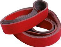 Hochleistungs-Schleifgewebeband Keramikkorn Körnung 80 30x533 mm