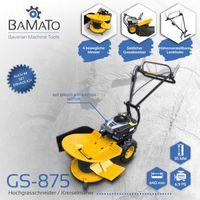 BAMATO Hochgrasschneider / Kreiselmäher GS-875 mit RATO R225 Motor