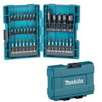 Makita Bit-Set 35 tlg B-66880 Impact-Black inklusive Steckschlüssel und Bithalter