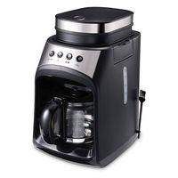 600W Elektrisch Kaffeevollautomat Kaffeemaschine mit Filter-System,Glaskanne
