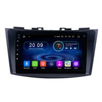 "9"" Touchscreen Android Autoradio Bluetooth GPS Navi CarPlay für Suzuki Swift"