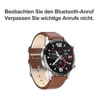 Smart Watch , EKG + PPG Wasserdicht Bluetooth Call Blutdruck Mode Armband Armband Fitness Smartwatch