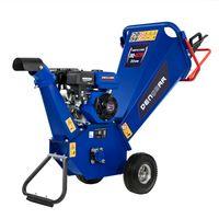 DENQBAR 5,1 kW (7 PS) Gartenhäcksler, Gartenschredder mit Benzinmotor
