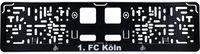 1. FC Köln Nummernschildhalter Logo 53 x 13,5 cm