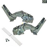 Türscharnier Scharniersatz Kühlschrank Bosch Siemens Neff 3702 3703 3306 3307