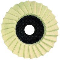 Glanz-Polierscheibe 125mm für Winkelschleifer , Filz