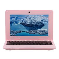 10,1-Zoll-Netbook Lightweight Portable Laptop AKTIONEN S500 1,5 GHz ARM Cortex-A9 / Android 5,1 / 1G + 8G / 1024 * 600,Rose