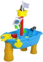 KNORRTOYS.COM Sand- und Wassertisch Piratenschiff