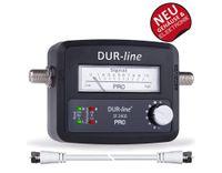 DUR-line SF 2400 Pro Satfinder mit Zeiger- und LED-Anzeige