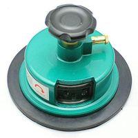 Fabric Sampler Cutter 100Sqcm runde Stoffprobe Fabric Carpet Weight Cutter GSM,(Grün)