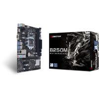Biostar B250MHC Motherboard    B250   Intel Socket H4 LGA 1151   micro ATX / mATX   (NEU)
