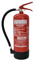 NEUPulverlöscher ABC Pulver 6 kg EN3 + Manometer + Standfuß Feuerlöscher