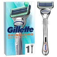 Gillette SkinGuard Sensitive Aloe Vera Rasierapparat mit 1 Klinge