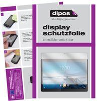 2x Lenovo Tab M10 HD Schutzfolie klar Displayschutzfolie Folie Display Schutz