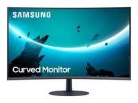Samsung C27T550FDU 68,6 cm (27 Zoll) 1920 x 1080 Pixel Full HD Blau, Grau