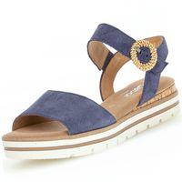GABOR Comfort Damen Plateau-Sandalen Blau, Schuhgröße:EUR 41