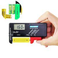Batterietester Digitaler Akku Tester BT-168D Batterie Testgeräte mit LCD Anzeige Universal Batterieprüfer Batterien