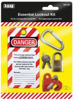 Kasp Verriegelungs / Lockout Set für Sicherungsschalter