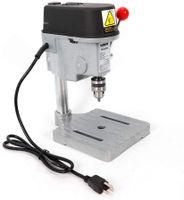 340W Tragbar Tischbohrmaschine Standbohrmaschine Bohrmaschine Mini Tisch Bohrer 0-16000 U/min mit Sechskantschlüssel Bohren