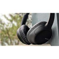 Sony WH-CH710N Bluetooth-Kopfhörer Kabellos Noise Cancelling 35h Laufzeit Black